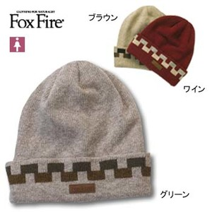 Fox Fire(フォックスファイヤー) ループヤーンニットハット フリー ワイン