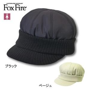 Fox Fire(フォックスファイヤー) リブニットキャスケット フリー ベージュ