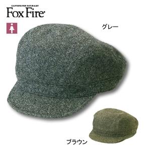 Fox Fire(フォックスファイヤー) ネップウールハンチング M グレー