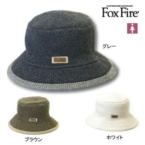 Fox Fire(フォックスファイヤー) ループヤーンニットハット フリー ホワイト