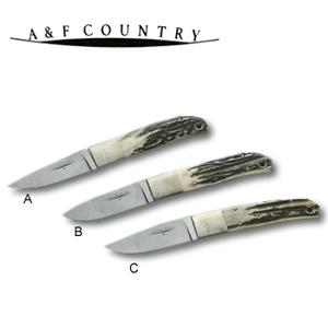 A&F COUNTRY(エイアンドエフカントリー) A&F COUNTRYシースナイフ ストレート フィッシャーマン スタッグハンドル 188mm