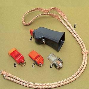 A&F COUNTRY(エイアンドエフカントリー) GONIA ホイッスル LUCKY DOGブレイデッド ランヤード 108cm