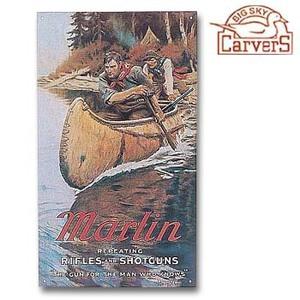 A&F COUNTRY(エイアンドエフカントリー) クラシック メタルサイン MARLIN 2 MAN