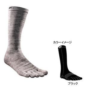 injinji(インジンジ) スキー・スノーボードソックス L ブラック