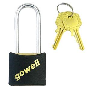 gowell(ゴーウェル) パッドロックL-20 L ブラック