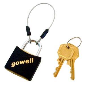 gowell(ゴーウェル) ミニワイヤーロック 10-S ブラック
