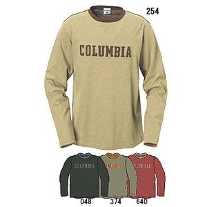 Columbia(コロンビア) ヒドゥンヒルズリンガーTクルー XL 048(Coal)