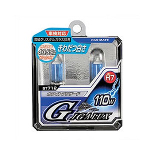 GIGALUX(ギガルクス) ホワイトブリザード H7 55W ホワイト