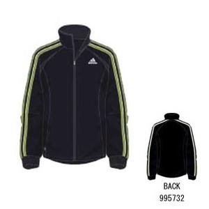 adidas(アディダス) R6730 adi-COOL ウォームアップジャケット O マーキュリーグレーS04×サン