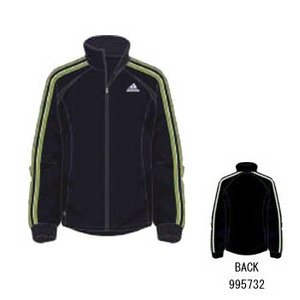 adidas(アディダス) R6730 adi-COOL ウォームアップジャケット XO マーキュリーグレーS04×サン