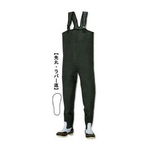 ノーブランド CF-403 胴付長靴(先丸) 26.0cm ブラック