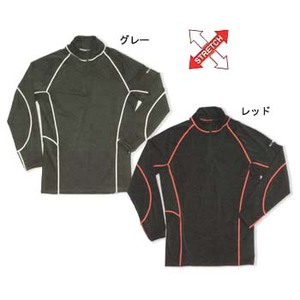 FIELDX-TREAMER FX-601 ジップアップシャツ LLL グレー