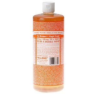 Dr.Bronner's(ドクターブロナー) ドクターブロナーマジックソープ 大 ティートゥリーの香り