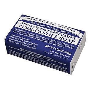 Dr.Bronner's(ドクターブロナー) ドクターブロナーマジックソープバー ペパーミントの香り