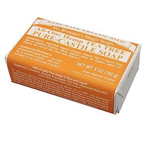 Dr.Bronner's(ドクターブロナー) ドクターブロナーマジックソープバー ティートゥリーの香り