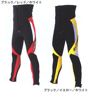 がまかつ(Gamakatsu) GM-5754 鮎タイツ S ブラック/イエロー/ホワイト