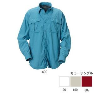 Columbia(コロンビア) シルバーリッジシャツ S 402(Newport Blue)