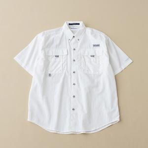 Columbia(コロンビア) バハマショートスリーブシャツ S 100(White)