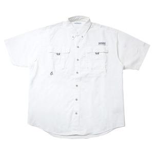 Columbia(コロンビア) バハマショートスリーブシャツ XL 100(White)