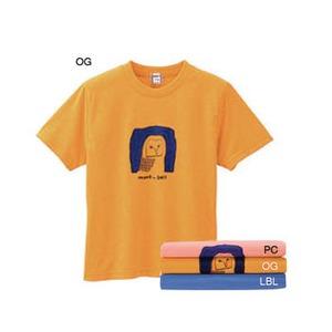 モンベル(montbell) WIC.ライトTシャツ Kid's アウル 100 ライトブルー(LBL)