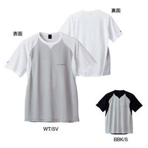 モンベル(montbell) WIC.クール サイクルTシャツ S ホワイト×シルバー(WT/SV)