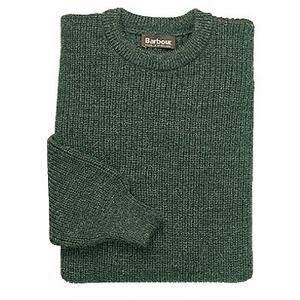 Barbour(バーブァー) タインクルーネックセーター S D0925(オリーブ)