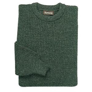 Barbour(バーブァー) タインクルーネックセーター L D0925(オリーブ)