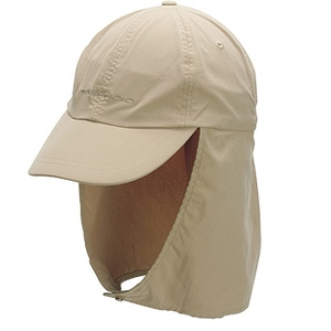 Exofficio(エクスオフィシオ) BugsAway Hat With Cape L/XL カーキ