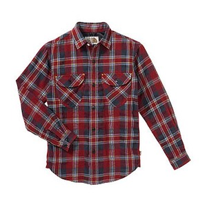 A5 ATJ30755 Lone Mountain Shirt(ロンマウンテンシャツ) 140cm CR(カージナルレッド)