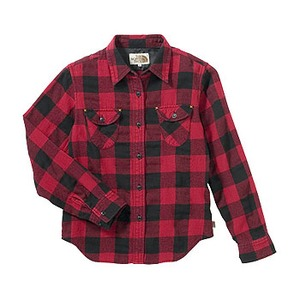 A5 ATW30753 Forest Hill Shirt L CR(カージナルレッド)
