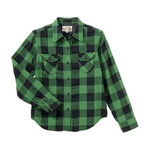 A5 ATW30753 Forest Hill Shirt L EG(イングリッシュグリーン)