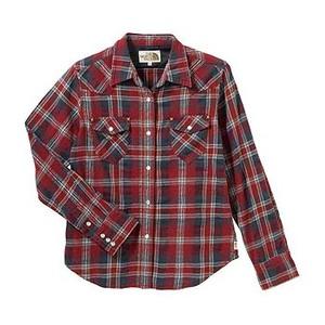 A5 ATW30755 Lone Mountain Shirt(ロンマウンテンシャツ) L CR(カージナルレッド)