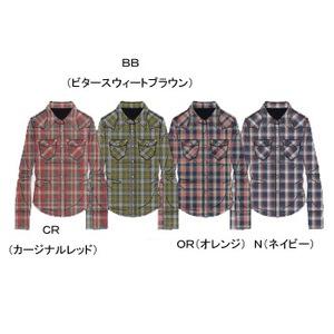 A5 ATW30755 Lone Mountain Shirt(ロンマウンテンシャツ) L OR(オレンジ)