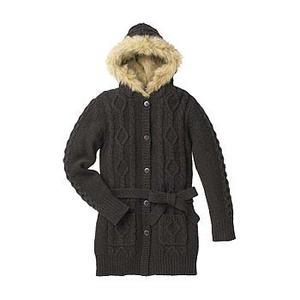 A5 Lamb Wool Hooded Jacket S BB(ビタースウィートブラウン)