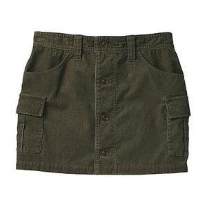 A5 Corded Skirt M KK(カーキ)