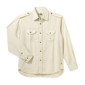 A5 AT30750 Herringbone Shirt M IV(アイボリー)