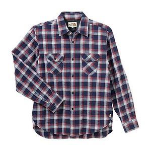 A5 AT30755 Lone Mountain Shirt(ロンマウンテンシャツ) XL N(ネイビー)
