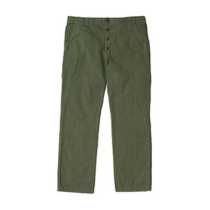 A5 AT50751 Hemp Duck Pant L CG(カーゴグリーン)