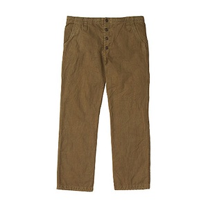 A5 AT50751 Hemp Duck Pant L LB(ライトブラウン)