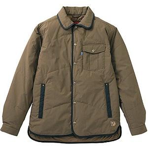 FJALL RAVEN(フェールラーベン) ユティリティーキルトシャツ L 90(ブラックコーヒー)