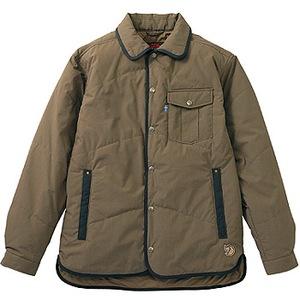 FJALL RAVEN(フェールラーベン) ユティリティーキルトシャツ XS 90(ブラックコーヒー)
