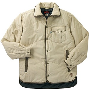 FJALL RAVEN(フェールラーベン) ユティリティーキルトシャツ L 11(オフホワイト)