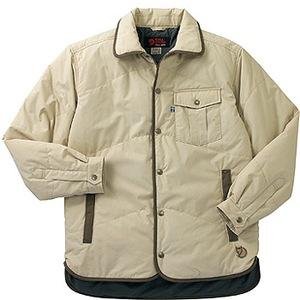 FJALL RAVEN(フェールラーベン) ユティリティーキルトシャツ LL 11(オフホワイト)