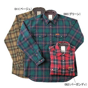 Fox Fire(フォックスファイヤー) ウォッシャブルウール クラシックチェックシャツ M 011(ベージュ)