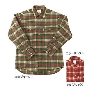 Fox Fire(フォックスファイヤー) サーマスタット ヘリンボーンチェックシャツ L 079(ブリック)