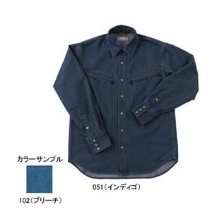 Fox Fire(フォックスファイヤー) QDCデニムシャツ S 051(インディゴ)