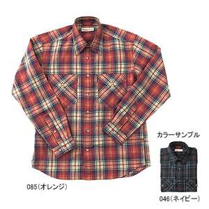 Fox Fire(フォックスファイヤー) トランスウェット クラシックチェックシャツ M 085(オレンジ)
