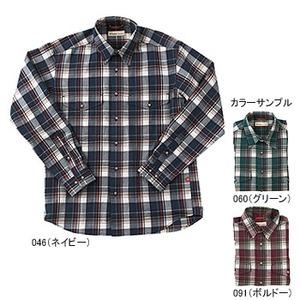 Fox Fire(フォックスファイヤー) トランスウェット ボールドチェックシャツ XL 046(ネイビー)