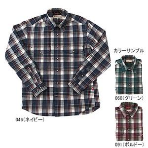 Fox Fire(フォックスファイヤー) トランスウェット ボールドチェックシャツ L 091(ボルドー)