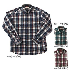 Fox Fire(フォックスファイヤー) トランスウェット ボールドチェックシャツ XL 091(ボルドー)